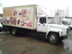 ГАЗ 3307. Изотермический фургон длинная база 5 метров рама целая возможен обм, 4 700 куб. см., 4 500 кг.
