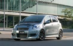 Обвес кузова аэродинамический. Toyota Vitz, NCP91, SCP90, KSP90