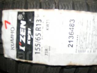 Kumho I'Zen KW31. Зимние, без шипов, 2012 год, без износа, 4 шт