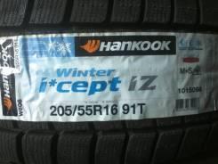 Hankook Winter i*cept IZ2 W616. Зимние, без шипов, 2015 год, без износа, 4 шт