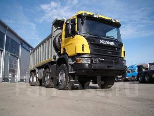Scania P. 400 8x4 CB8X4EHZ, 2017, 13 000 куб. см., 33 000 кг.