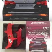 Абсорбер бампера. Hyundai Santa Fe