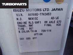 Маховик. Isuzu Elf, AKR66E, AKR66 Двигатель 4HF1
