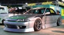 Обвес кузова аэродинамический. Nissan Skyline, ECR32, HR32, HNR32, FR32, HCR32, ER32, BNR32, YHR32. Под заказ