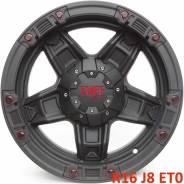Tuff A.T. T-10. 8.0x16, 6x139.70, ET0, ЦО 108,0мм.