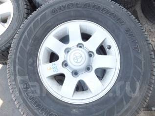 Продам комплект летних колёс 265/70/R15. 6.0x15 6x139.70