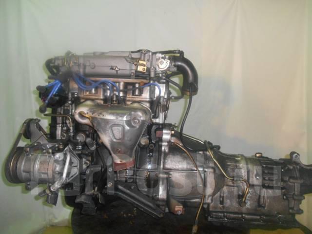 Контрактный б/у двигатель Mazda FE sohc Efi