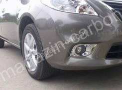 Накладка на фару. Nissan Latio, N17 Двигатель HR12DE