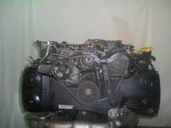 Контрактный б/у двигатель + кпп Subaru EJ20-T