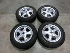 Продается комплект литых дисков Bridgestone Vaggio в Ангарске. 6.5x15, 5x100.00, 5x114.30, ET48