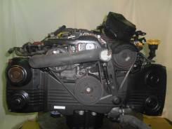 Контрактный б/у двигатель + кпп Subaru EJ253