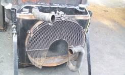 Радиатор охлаждения двигателя. Isuzu