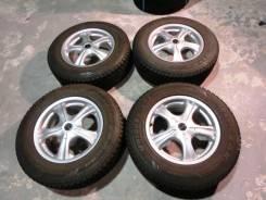 Продается комплект литых дисков Bridgestone Vaggio в Ангарске. 7.0x16, 5x100.00, 5x114.30, ET35
