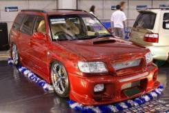 Обвес кузова аэродинамический. Subaru Forester, SF5. Под заказ