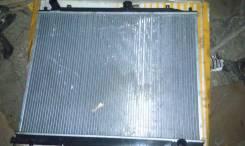 Радиатор охлаждения двигателя. Mitsubishi Pajero Двигатель 4M41