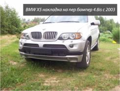 Накладка на бампер. BMW X5. Под заказ