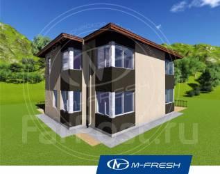 M-fresh Fiiiiieee-esta! (Покупайте сейчас проект со скидкой 20%! ). 200-300 кв. м., 2 этажа, 6 комнат, кирпич