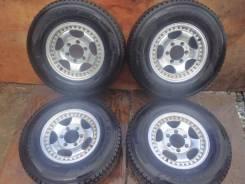 """Большие колеса с Mitsubishi Delica R15. 6.0x15"""" 6x139.70 ET22"""