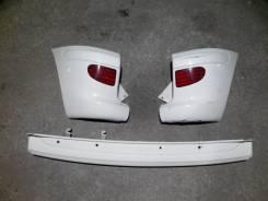 Бампер задний Toyota Funcargo 2002-2005 белый