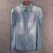 Рубашки джинсовые. 46, 48