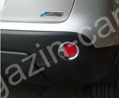 Накладки на отражатели Nissan Qashqai Dualis 2007-2013. Nissan Dualis Nissan Qashqai