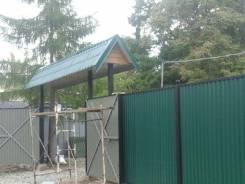 Профессиональный монтаж заборов, ворот, калиток в Хабаровске!