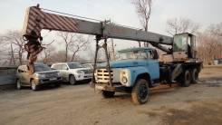 ЗИЛ 133ГЯ. Продается Автокран ПТС Владивосток., 11 000 куб. см., 10 000 кг., 15 м.