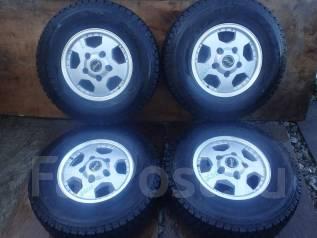 Большие колеса с Toyota Land Cruiser 100 R16. 8.5x16 5x150.00 ET50