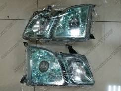 Фары Lexus LX 470 / Cygnus с зеленым оттенком. Новые! Отправка