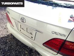 Крышка багажника. Toyota Crown, GRS180, GRS182, GRS181, GRS183 Двигатели: 4GRFSE, 3GRFSE