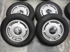 Редкий комплект Инфинити с почти новой шиной 215/65/15!. 6.5x15 5x114.30 ET45 ЦО 65,0мм.
