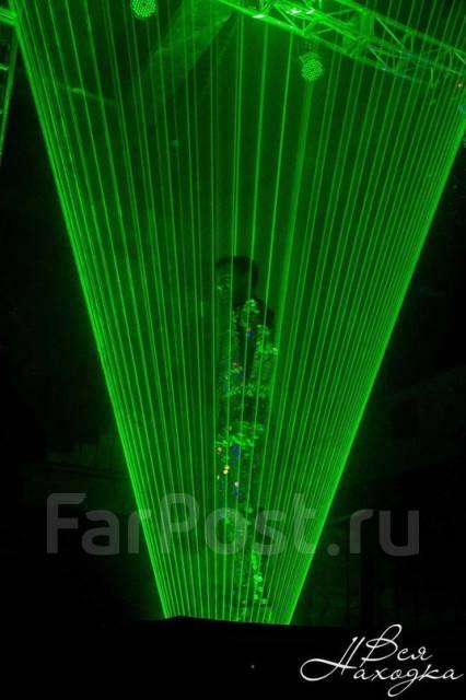 Laser man show. Маштабное иллюзорное лазерное шоу.
