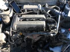 Двигатель. Nissan Bluebird, EU14 Двигатель SR18DE