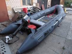 Tohatsu. Год: 2003 год, длина 4,40м., двигатель стационарный, 18,00л.с., бензин