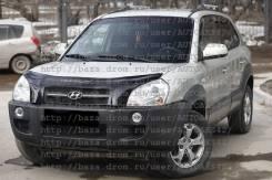 Дефлектор капота. Hyundai Tucson