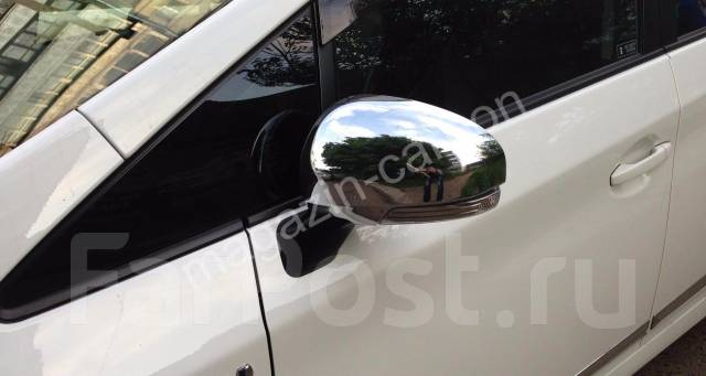 Накладка на зеркало. Toyota Prius, ZVW30, ZVW30L, ZVW35 Toyota Prius v, ZFW41 Toyota Prius a, ZVW40W, ZVW41W Двигатель 2ZRFXE