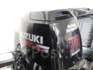 Suzuki. 70,00л.с., 4х тактный, бензин, нога L (508 мм), Год: 2006 год