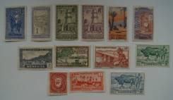 Чистые марки колоний франции