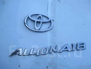Эмблема. Toyota Allion, ZZT245 Двигатель 1ZZFE