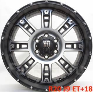 XD Series. 9.0x20, 6x139.70, ET18, ЦО 108,0мм.
