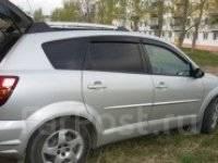 Ветровик на дверь. Pontiac Vibe Toyota Matrix, ZZE132, ZZE134 Двигатели: 2ZZGE, 1ZZFE