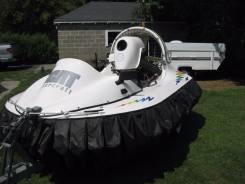 Hovercraft. Год: 2005 год, длина 3,40м., двигатель стационарный, 65,00л.с., бензин