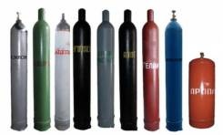 Технические газы: Кислород, Пропан, Углекислота, Гелий, Аргон, Ацетилен