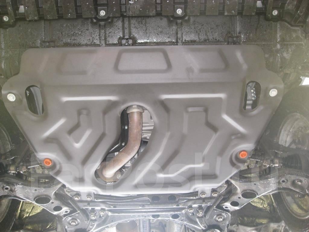 пластиковая защита двигателя toyota rav-4 2013