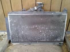 Радиатор охлаждения двигателя. Toyota Probox Двигатель 1NDTV