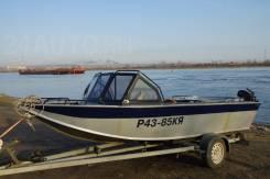 North River. Год: 2009 год, длина 5,50м., двигатель стационарный, 220,00л.с., бензин