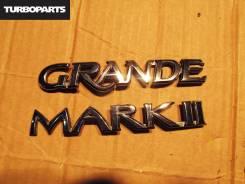 Эмблема. Toyota Mark II, JZX115, GX115, JZX110, GX110 Двигатели: 1JZFSE, 1JZGTE, 1GFE, 1JZGE