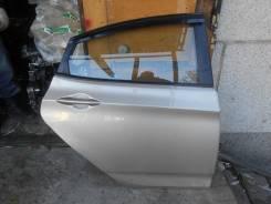 Дверь R задняя Hyundai Solaris б/у в сборе
