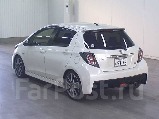 Спойлер. Toyota Vitz, KSP130, NCP131, NSP130