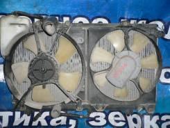 Радиатор охлаждения двигателя. Toyota Corolla II, EL51, EL53, EL55
